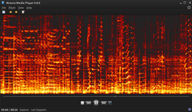 Quarter Color Spectrogram